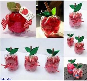 DIY plastová láhev Craft - náhled