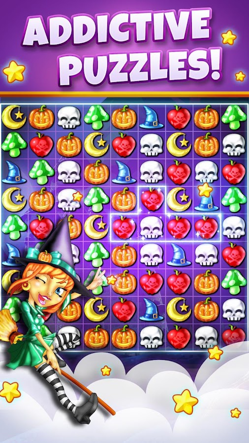 Witch Puzzle New Match 3 Game Android Apps On Google Play
