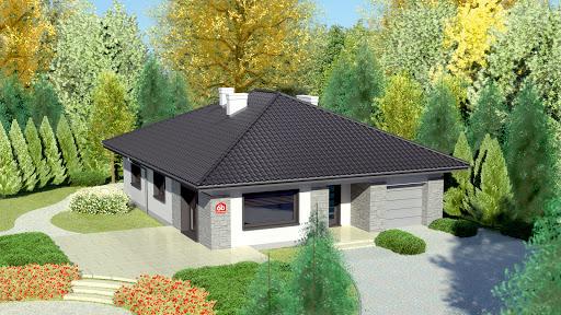 projekt Dom przy Słonecznej 6 bis