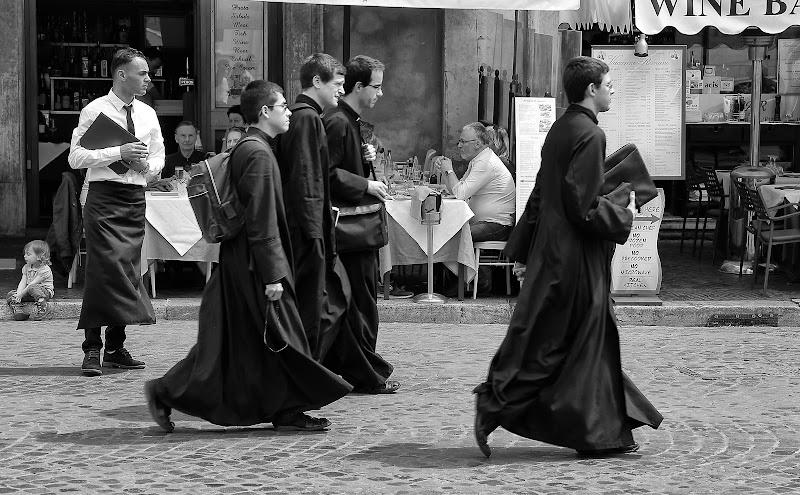 Quando i preti portavano la sottana di romano