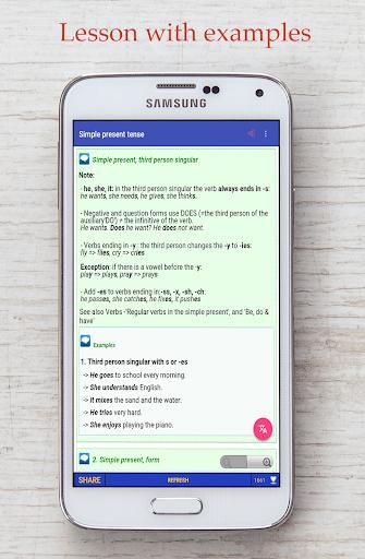 Screenshot for English Grammar in Hong Kong Play Store