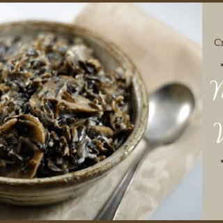 Creamy and Comforting Mushroom Wild Rice Recipe