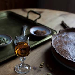 Spiced Whisky Pumpkin Pie.