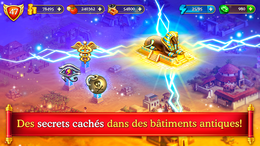 Cradle of Empires Match-3 Game APK MOD (Astuce) screenshots 4