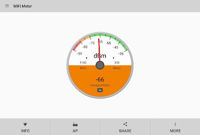 WiFi Signal Strength Screenshot 9