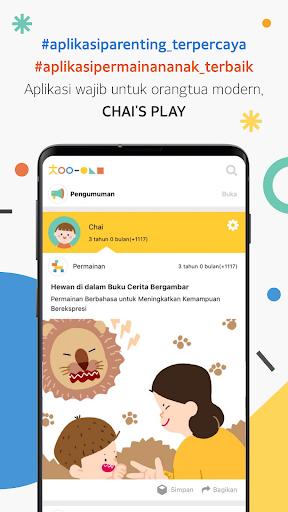 Chai's Play - Aplikasi parenting & permainan anak Apk 1