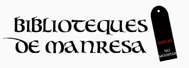 Photo: Propostes crítiques pel concurs de logotip Biblioteques de Manresa