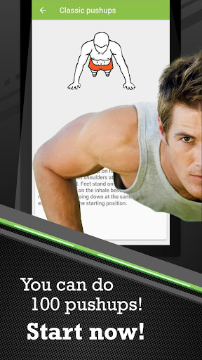 100 Pushups workout 2.8.8 screenshots 1