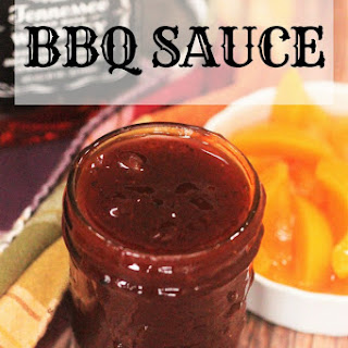 Whiskey Peach Barbecue Sauce.