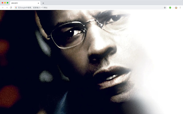 Denzel Washington New Tab