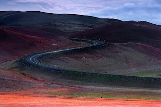 Photo: Long and Winding Road; Iceland