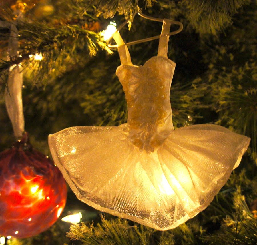 tutu by Tracy Marie - Public Holidays Christmas ( tutu, ornament, white, christmas, ballet )