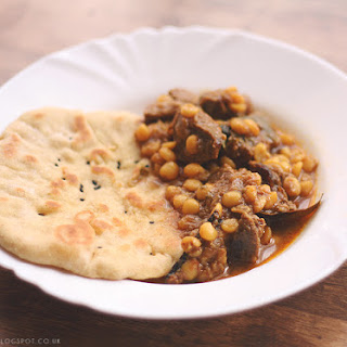 Mutton and Yellow Split Peas Curry