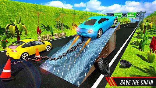 Chain Cars Speed Racing - Break Chain Driving  screenshots 2