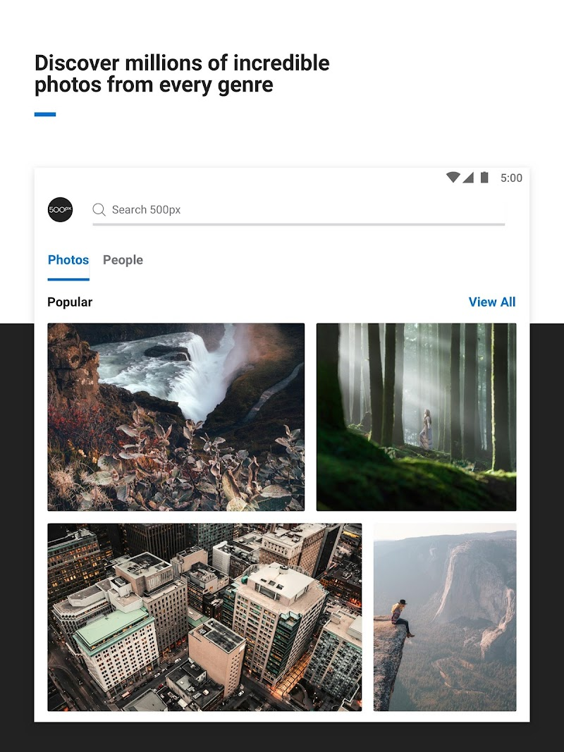 500px – Photography Screenshot 5