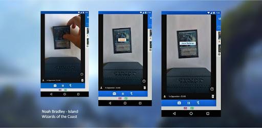 Magic The Gathering Mtg Card Scanner Delver Lens Apps On