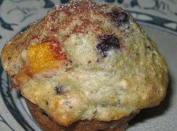 Blueberry Peach Muffins Recipe