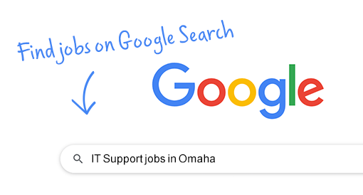 Search for jobs directly on Google