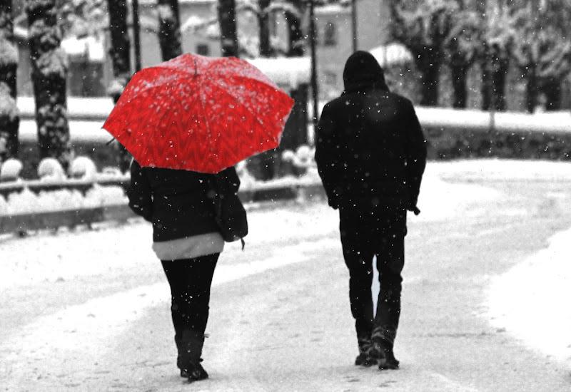 E si amarono l'un l'altro sospesi su un filo di neve. di valecoro