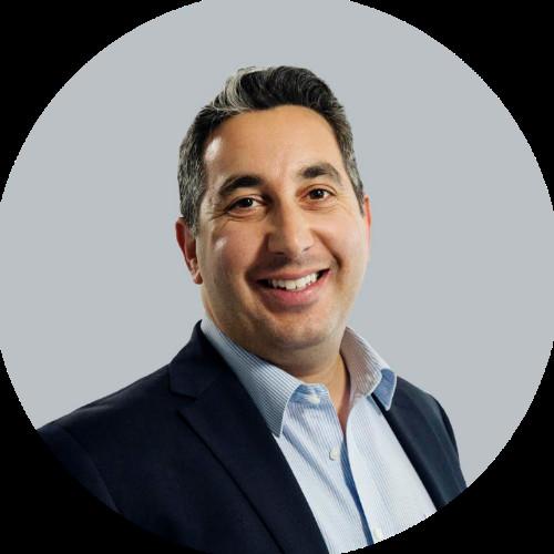 Portrait of Daniel Shakhani