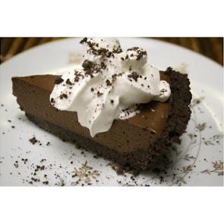 Chocolate Mousse Pie With Joe-Joe's Crust