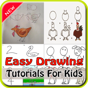 Easy Drawing Tutorials For Kids - náhled