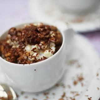 Chocolate Rice Dessert Cups.