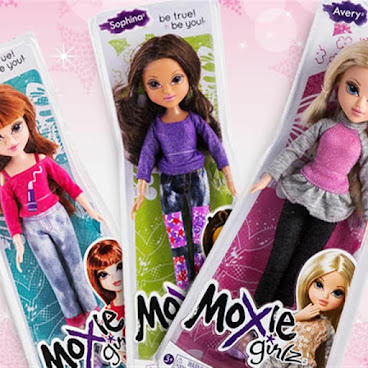 "Moxie Girlz 10"" 洋娃娃 Basic Doll (一套3件)"
