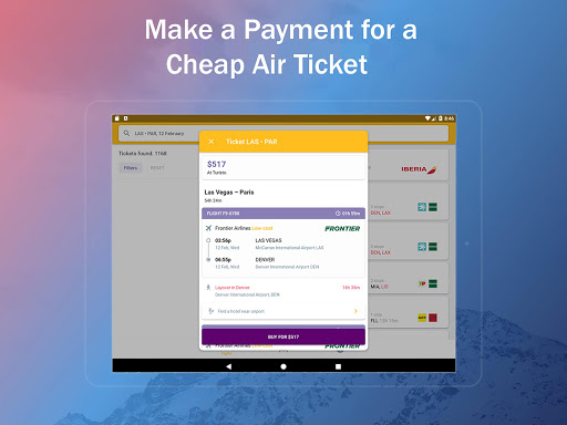 Airline Ticket Booking app screenshot 13