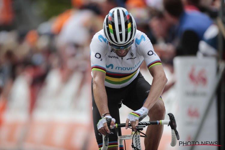 Au tour de Valverde d'abandonner !