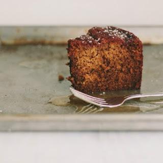 Honey Cake with Fleur de Sel.