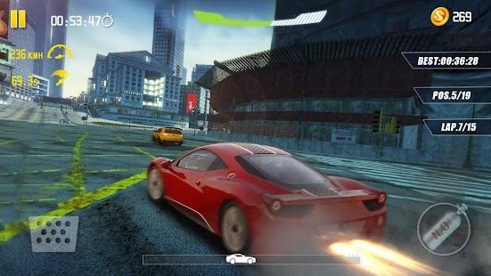 4-Wheel City Drifting Screenshot