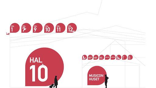 Musicon Signage Design preview