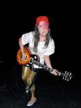 Photo: That one time I was David Bowie a la Aladdinsane for Rock Star Day senior year
