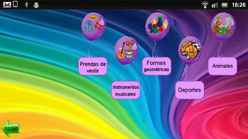 Learn to read in Spanish screenshot 4
