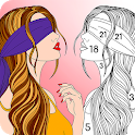 Premium Coloring Book - color by number for adults icon