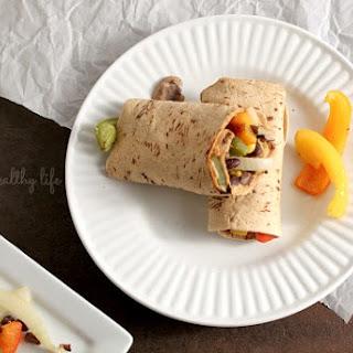 Chipotle Roasted Veggie Wraps