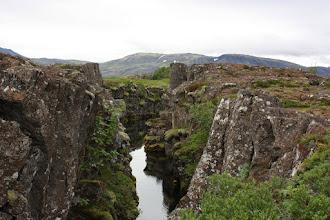 Photo: Þingvellir c.d.- położony na styku płyt tektonicznych euro i amerykańskiej.