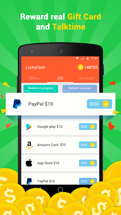 LuckyCash - Earn Free Cash- screenshot