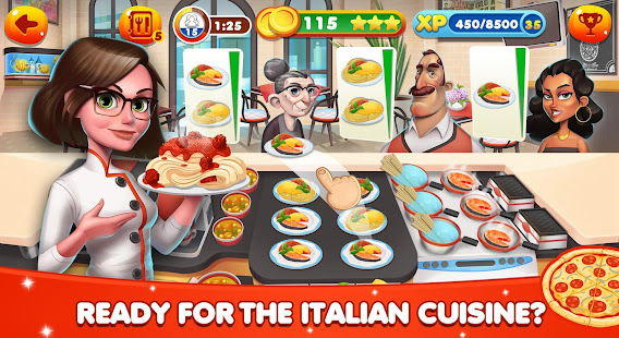 Cooking World – Restaurant Games & Chef Food Fever 4