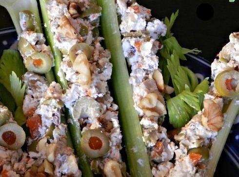 Stuffed Celery Recipe