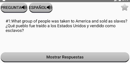 examen de ciudadania americana en ingles y espanol 2020