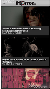 iHorror | Horror Movie News- screenshot thumbnail