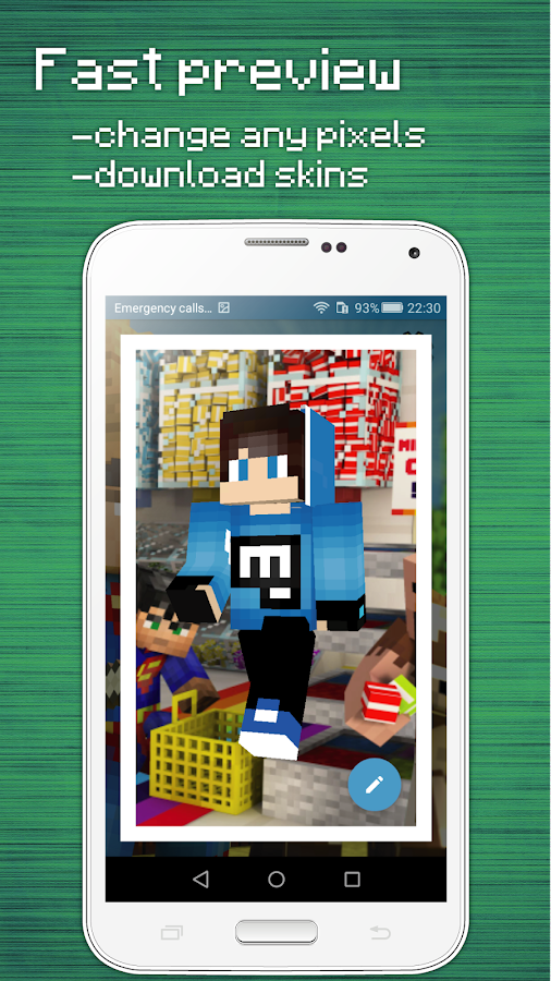3d Skin Editor For Minecraft Android Apps On Google Play