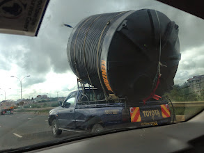 Photo: On the highway to Thika