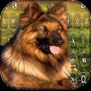 لوحة المفاتيح الكلب الراعي APK