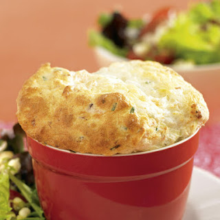 Salmon and Leek Soufflé
