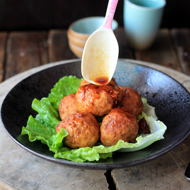 Lion'S Head (Chinese Meatballs) Recipe