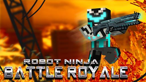 Robot Ninja Battle Royale C20c screenshots 1