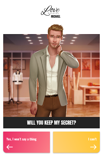 Love & Diaries : Michael - Romance Fashion story 3.1.19 screenshots 1
